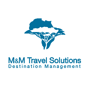 M&M Travel Solutions Tourism Logo